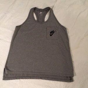 Nike racer back t-shirt
